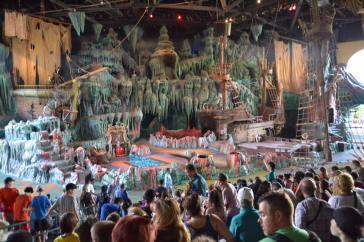 The Eighth Voyage of Sindbad stage