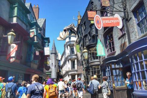 The Wizarding World of Harry Potter.