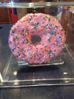Easily the biggest donut I've ever seen!